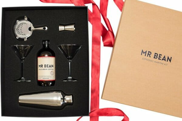 Mr Bean espresso martini gift pack,  Mr Bean coffee caravan, cannonvale, whitsunday region