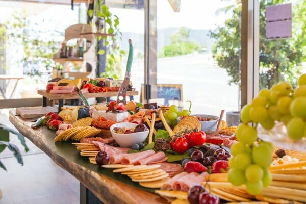 grazing tables, Peach and Pear, Airlie Beach, Whitsunday Islands, Queensland, Australia
