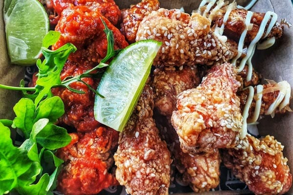 Chicken Wings served at poco cucina, Airlie Beach, Whitsunday Region, Queensland