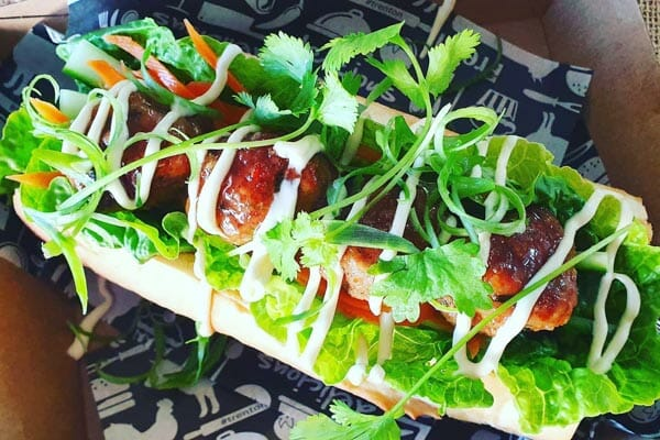 Pork and Ginger Banh M, Airlie Beach, Whitsunday Region, Queensland
