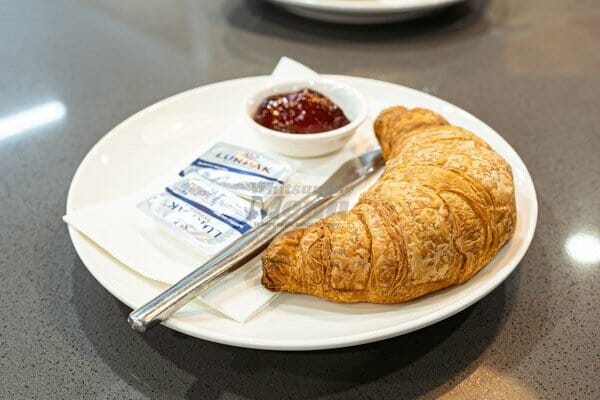 croissant, butter and jam served at 22 buttercup lane in Proserpine, Queensland, Whitsundays