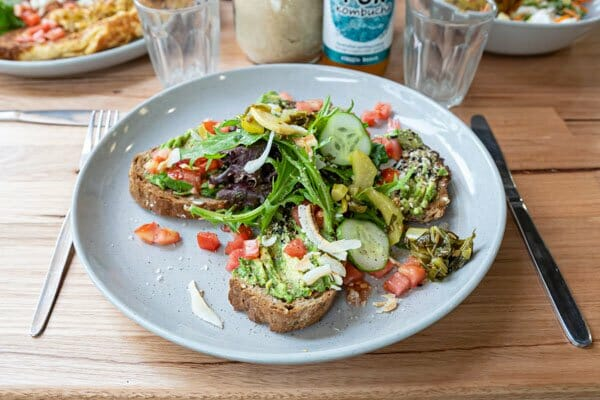 Vegan Toast at Cafe One 3 Cafe, Airlie Beach, Whitsunday Region,