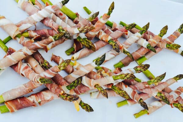 asparagus and prosciutto canapés by D'vine Catering & Events, Whitsundays, Queensland, Australia