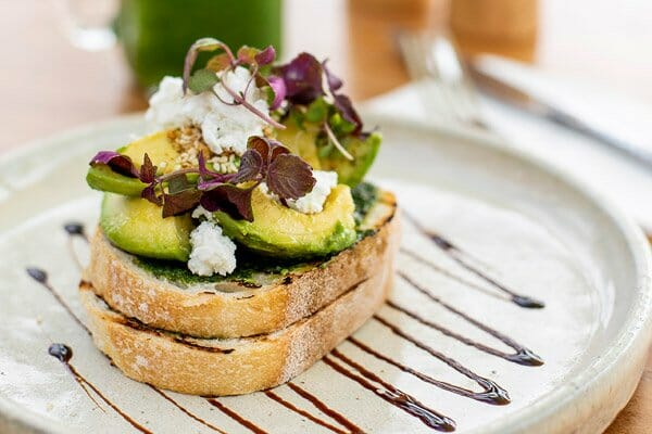 avocado on toast, The Rocks Bar & Restaurant, Coral Sea Resort, Airlie Beach, Whitsunday Region