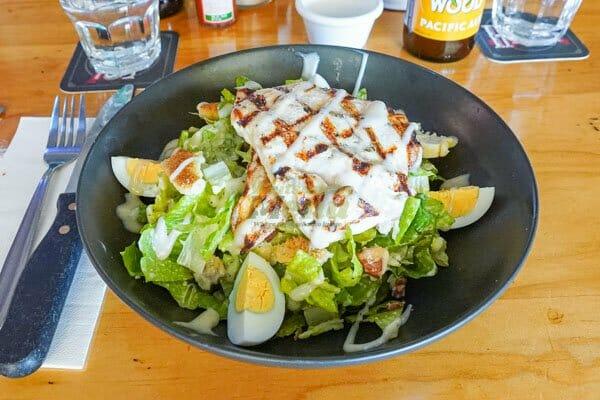 The Whole Hog Burger, Hogs Breath Cafe, Airlie Beach, Whitsundays, Australia