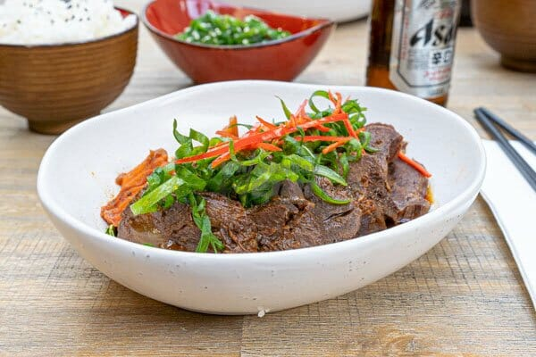 Taiwanese Braised Beef Cheek made by Cool La La, Asian Cuisine, Airlie Beach, Whitsundays, Australia