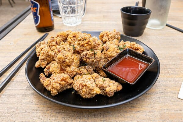 Taiwanese Chicken Bites made by Cool La La, Asian Cuisine, Airlie Beach, Whitsundays, Australia
